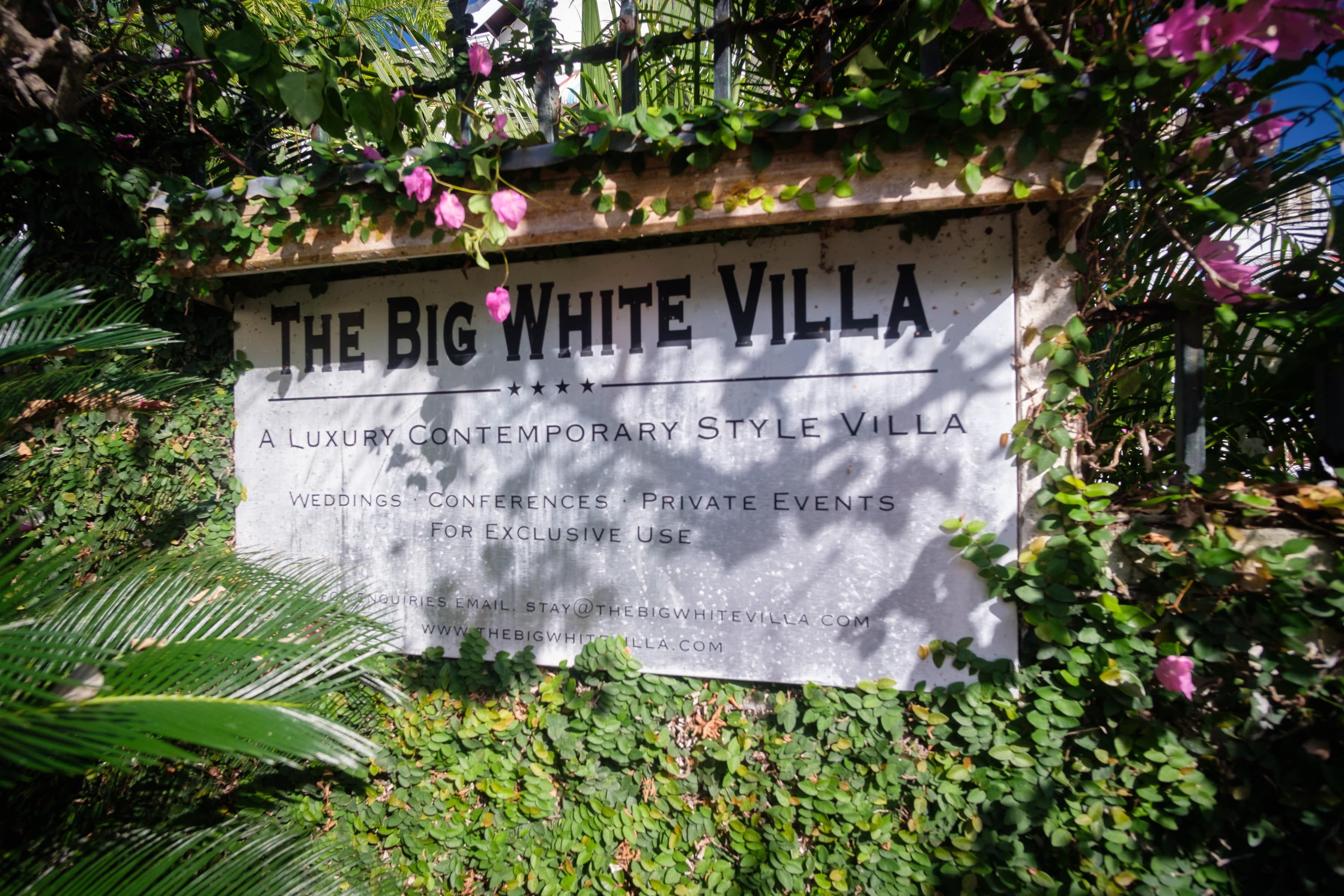 The Big White Villa